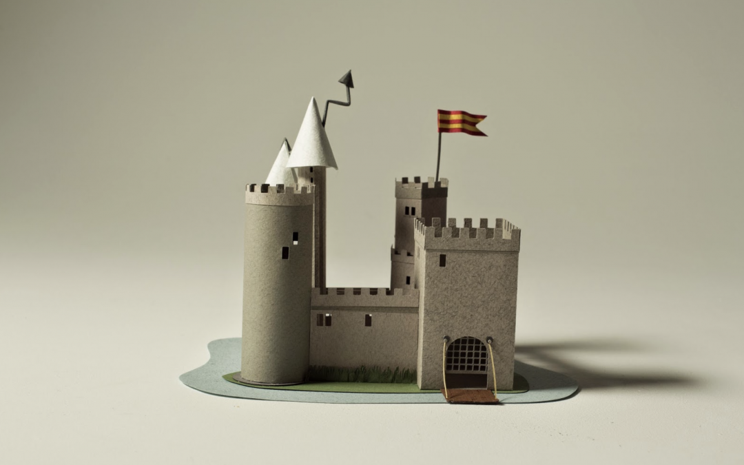 Papery leftovers: Castle