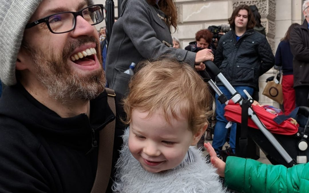 People's Vote March with Arlo