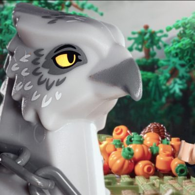 LEGO Rescuing Buckbeak
